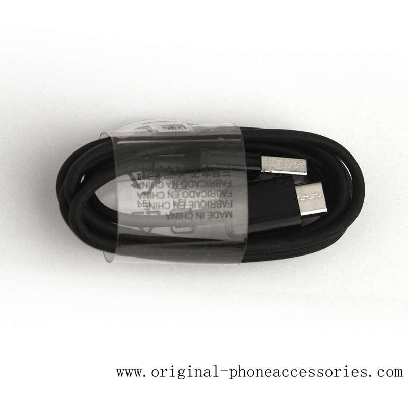 Original OEM EP-DG950CBE Samsung S8 S8 Plus USB C Type-C Cable Wholesale 1.2M Black