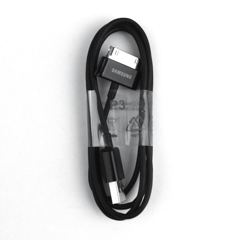 Original OEM ECC1DP0UBE Samsung Galaxy Tab P1000 P3100 P7300 P3110 USB data Cable Wholesale 1M Black