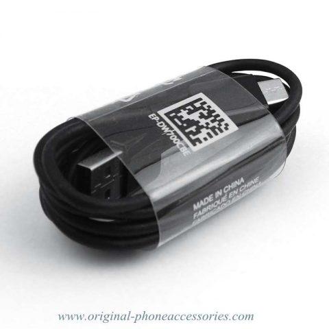 Original OEM EP-DW700CBE Samsung Tab pro S S8 S8 Plus USB C Type-C Cable Wholesale 1.5M Black