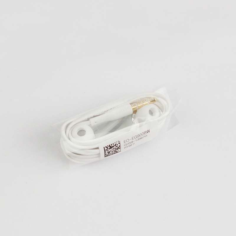 Original OEM Samsung S5 Headset EO-EG900BW Wholesale Earphone White