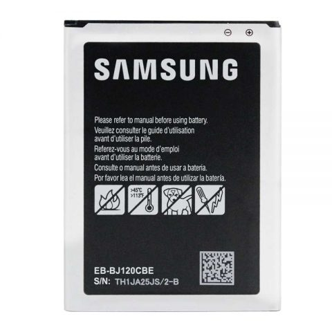 Original Samsung J1 2016 SM-J120 EB-BJ120CBE battery wholesale