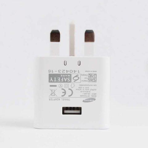 Original OEM Samsung EP-TA20UWE Note 4 S6 USB Fast Phone Charger Wholesale