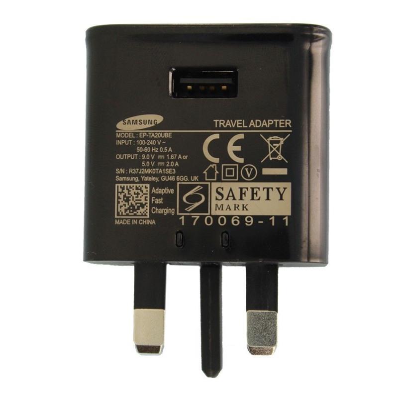 Original OEM Samsung EP-TA20UBE S6 S8 USB Fast Charger Wholesale