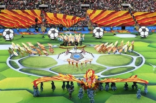 the opening of the World Cup