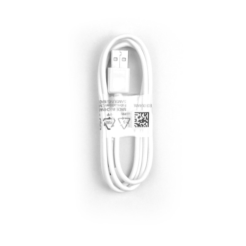 Original OEM ECB-DU4AWE Samsung Micro USB 2.0 Charger Data Cable Wholesale 1M White
