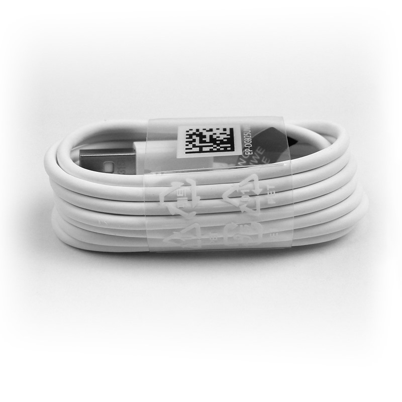 Original OEM EP-DG950CWE Samsung S8 USB Charger Data Cable Wholesale 1.2M White