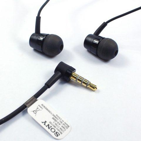 Original OEM Sony XPERIA Z Headset MH-750 Wholesale Earphone Black