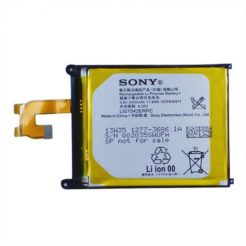 Original OEM SONY LIS1542ERPC XPERIA Z2 Phone Battery