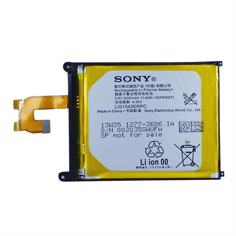Original Battery LIS1542ERPC For SONY XPERIA Z2 D6543 3000mAh Wholesale