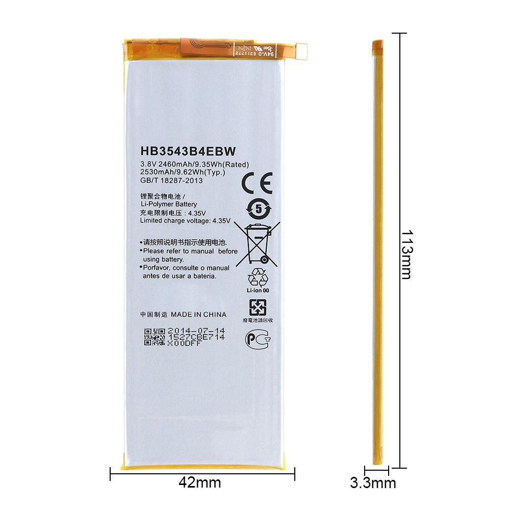Huawei Ascend P7 - Original HB3543B4EBW battery wholesale