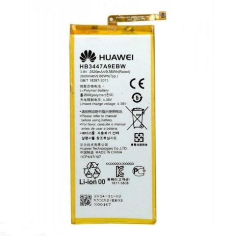 Huawei Ascend P8 HB3447A9EBW original battery