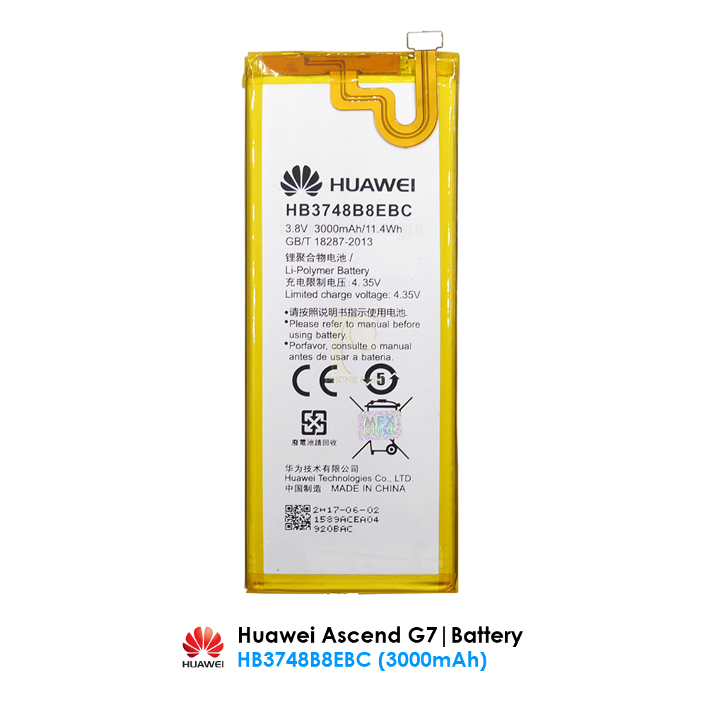 Huawei Ascend G7 - Original HB3748B8EBC battery wholesale