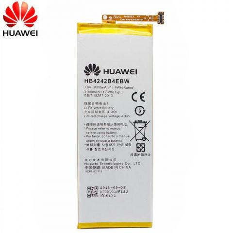 Huawei Honor 6 HB4242B4EBW original battery 3000mA