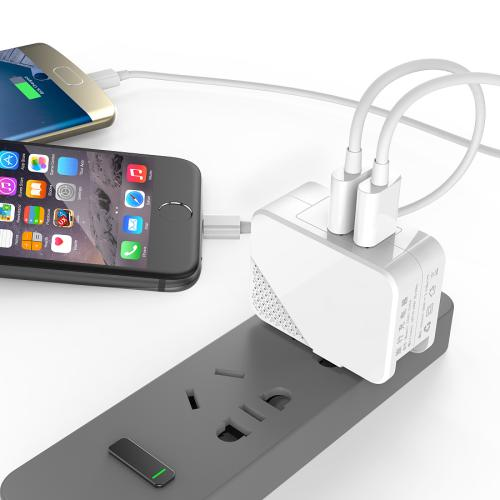 Can the power adapter be used as a charger?