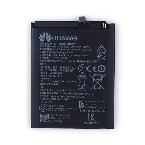 HUAWEI P10 Honor 9 3100mAh HB386280ECW original battery wholesale