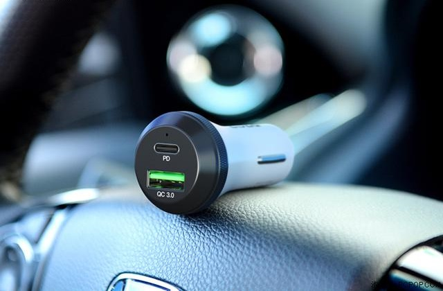 What should I pay attention to when using the car charger?