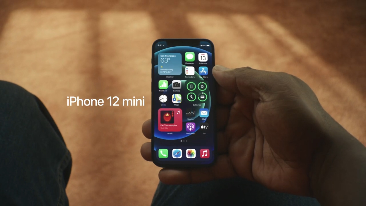 iPhone 12 mini full resolution, the cheapest and smallest Apple 5G phone